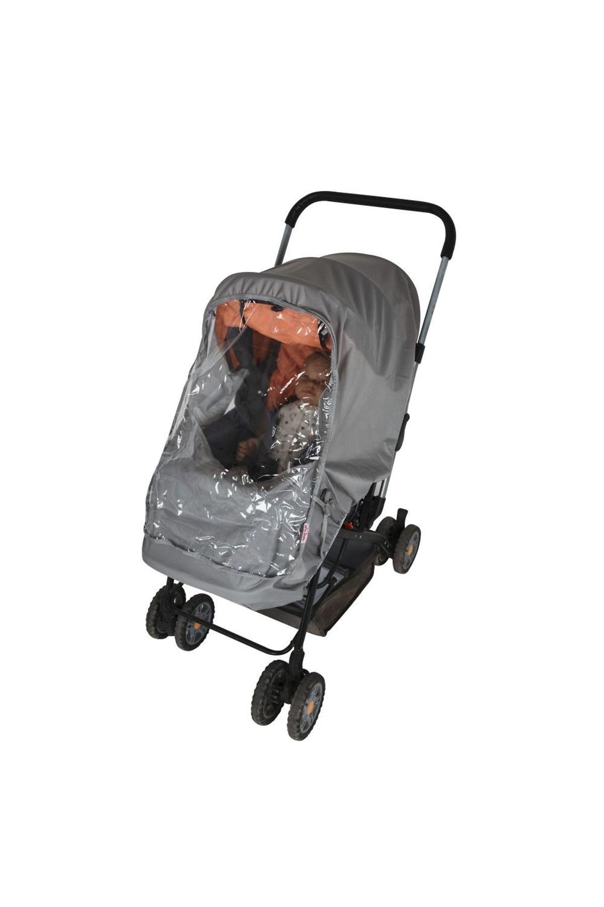 Sevi Bebe Lüks Bebek Arabası Puset Yağmurluğu ART-320