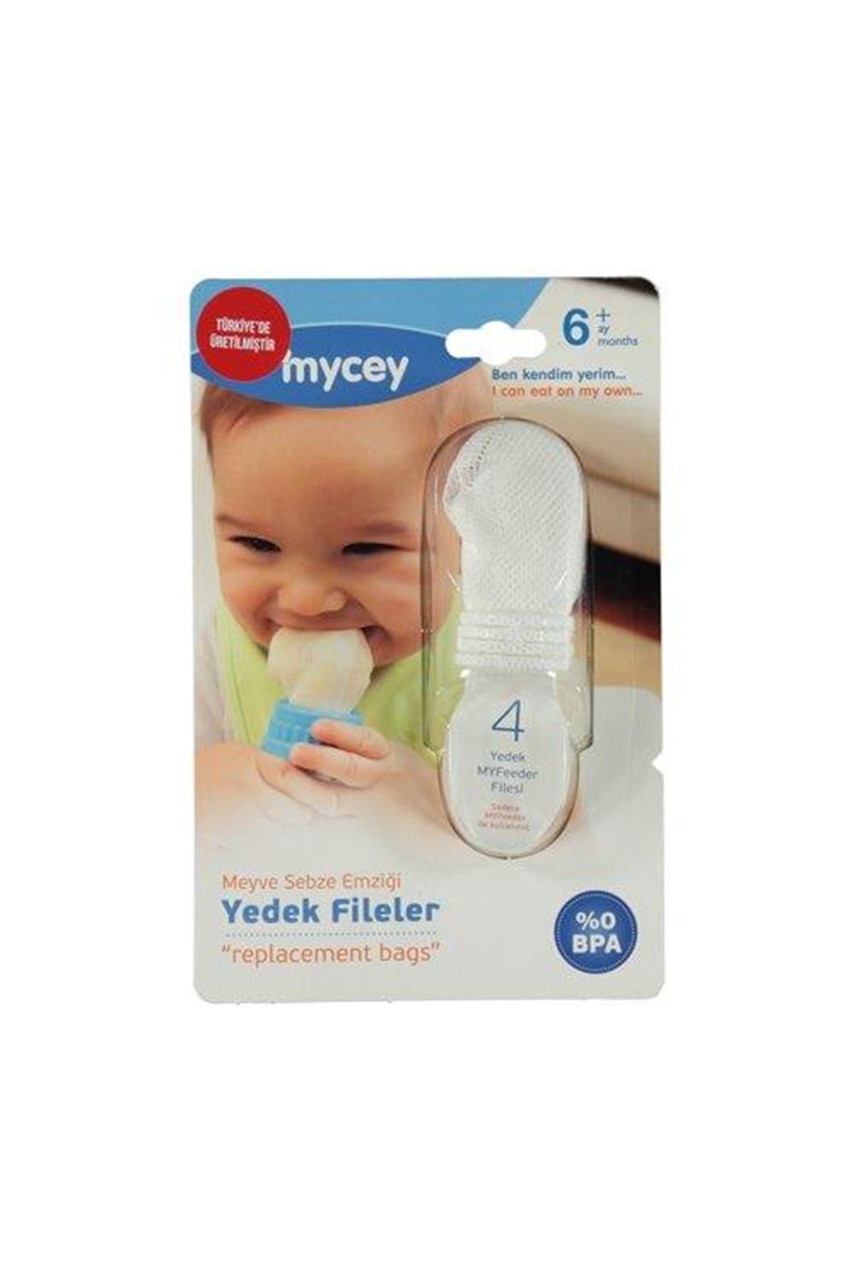 Mycey Güvenli Meyve Sebze Emziği MyFeeder Yedek File Seti
