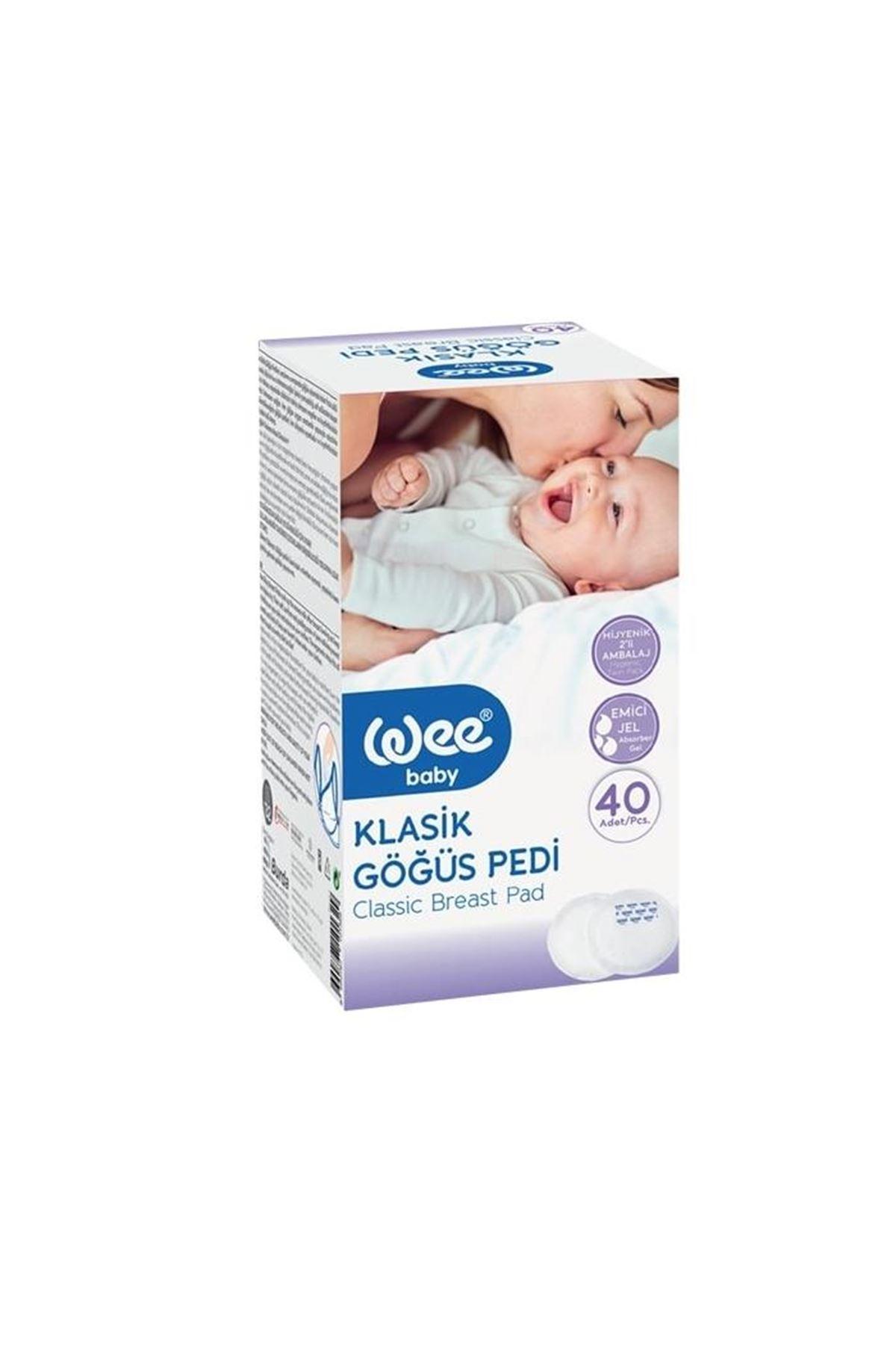 Wee Baby Klasik Göğüs Pedi 40lı 132