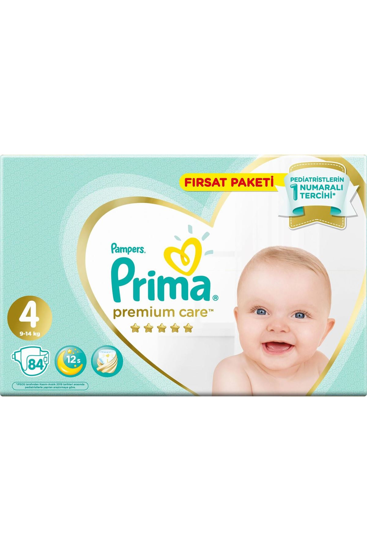 Prima Premium Care Bebek Bezi Fırsat Paketi 4 Beden 84 Adet
