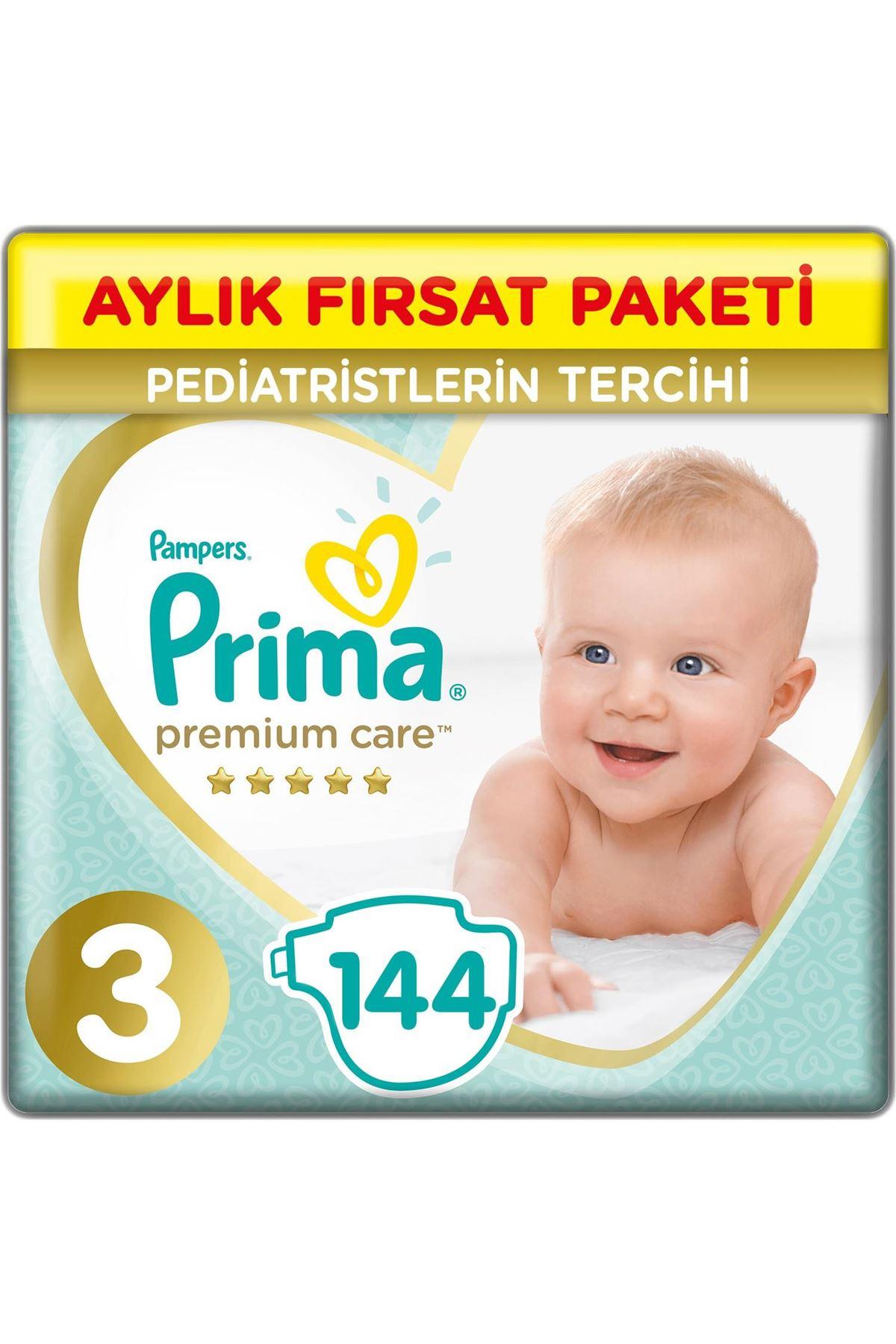 Prima Premium Care Aylık Fırsat Paketi 3 Beden 144 Adet
