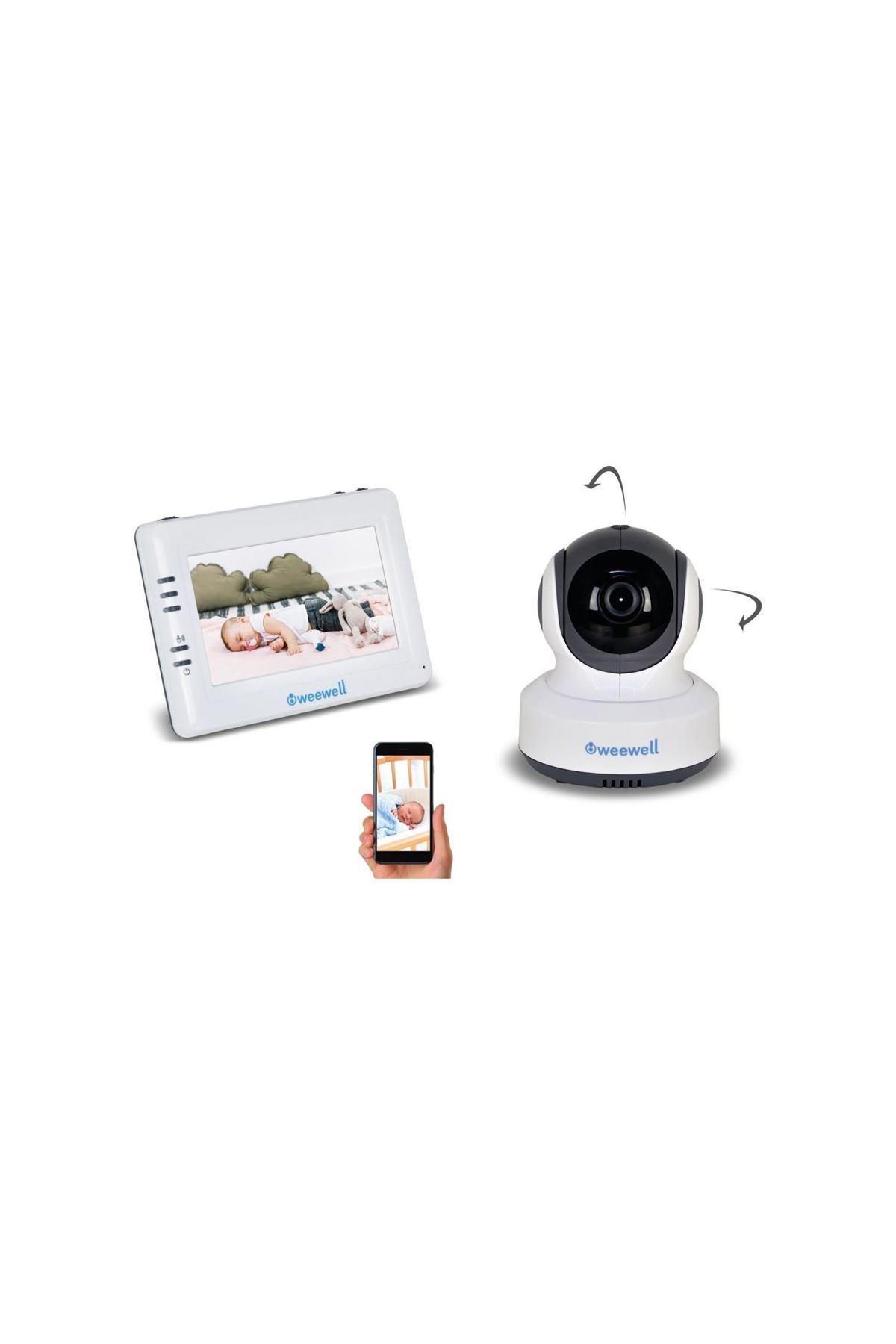 Weewell WMV870R Sphera Dual Watch Dijital Bebek İzleme Kameralı Telsiz