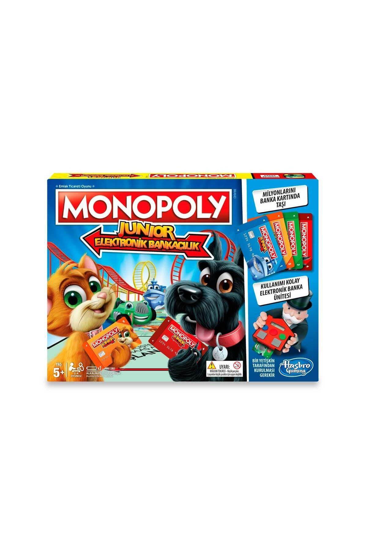 Hasbro Monopoly Junior Elektronik Bankacılık 5 Yaş+ E1842
