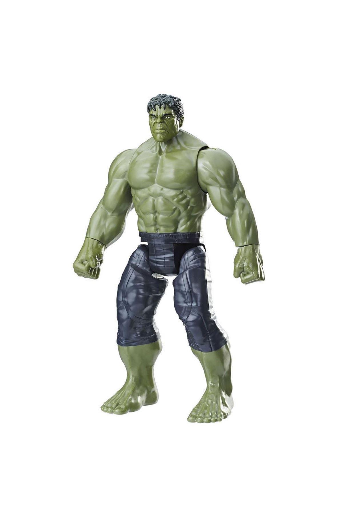 Avengers Titan Hero Hulk Özel Figür E7475