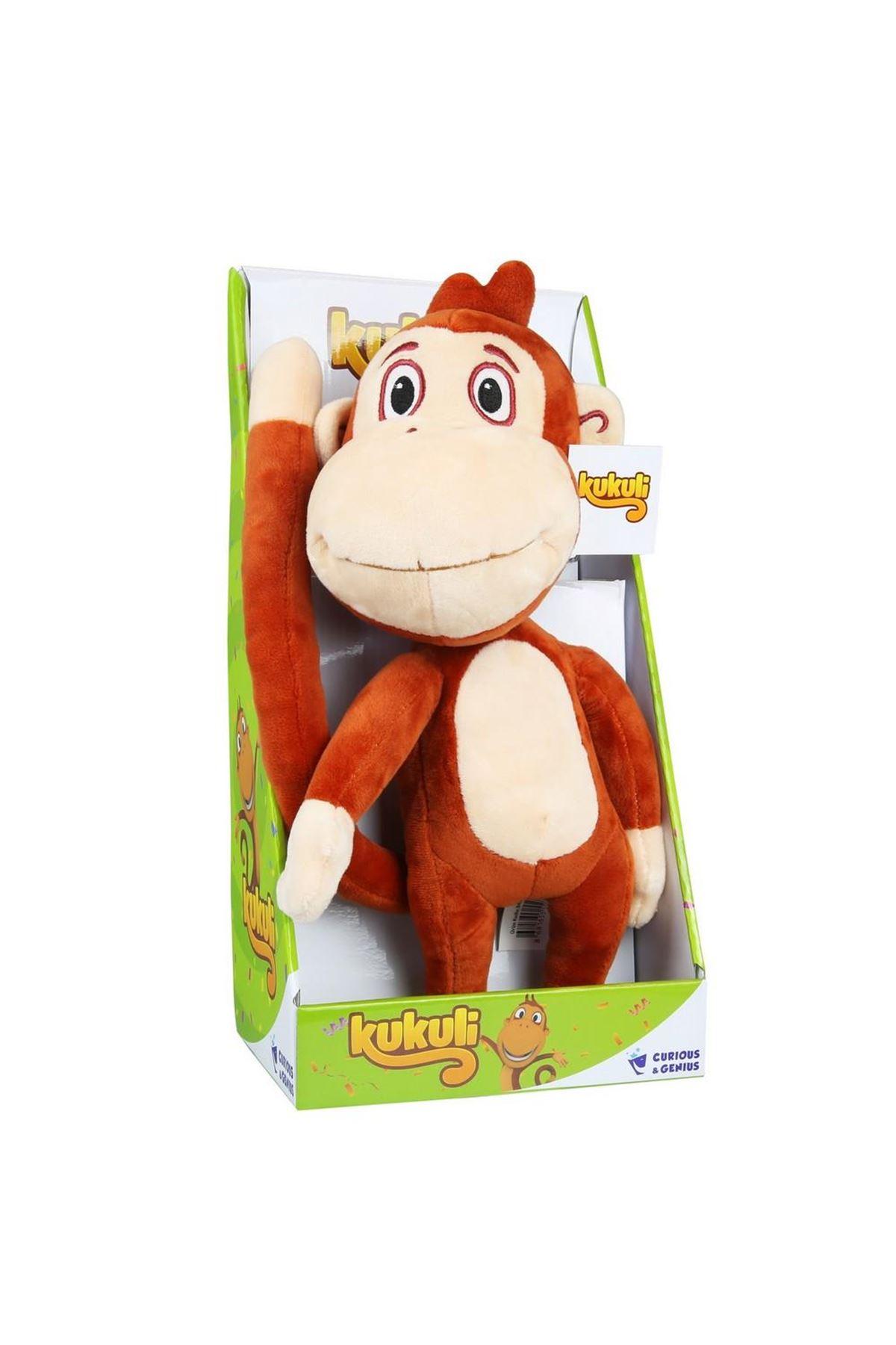 Kukuli Müzikli Peluş Oyuncak Maymun 55072