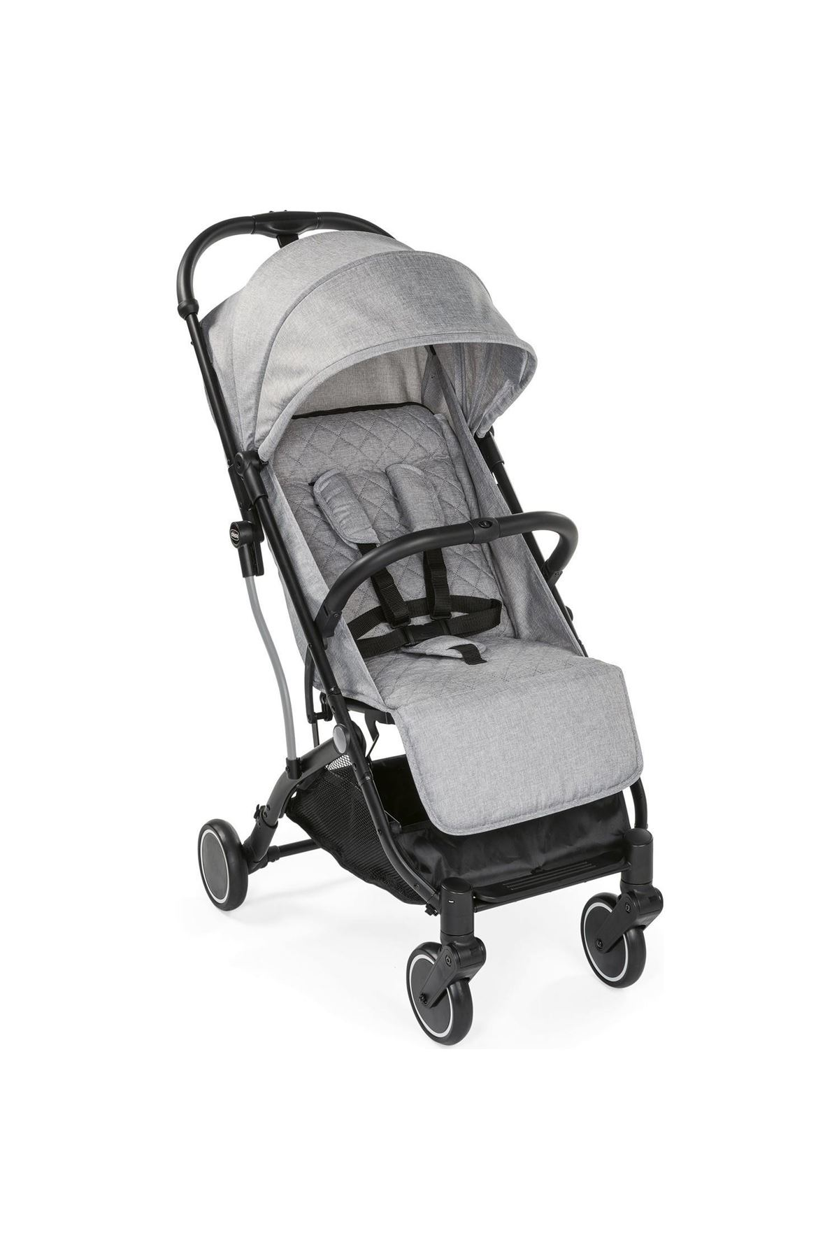 Chicco Trolley Me Bebek Arabası Light Grey