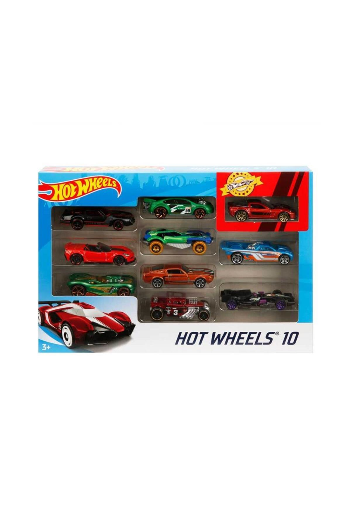 Hot Wheels 10lu Araba Seti 4886