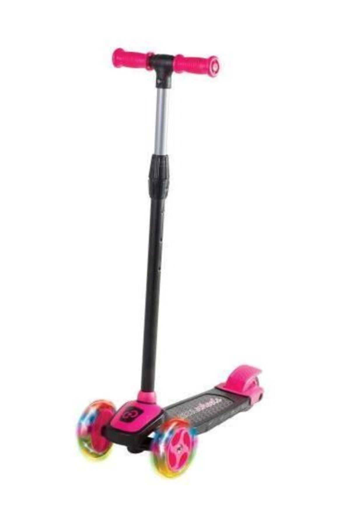 Cool Wheels Twist Scooter Işıklı Pembe