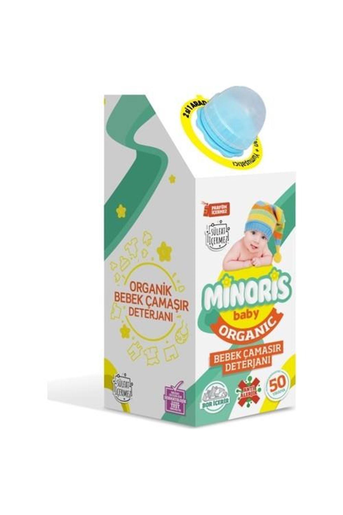Minoris Baby Organik Antialerjik Bebek Çamaşır Deterjanı 1000 ml
