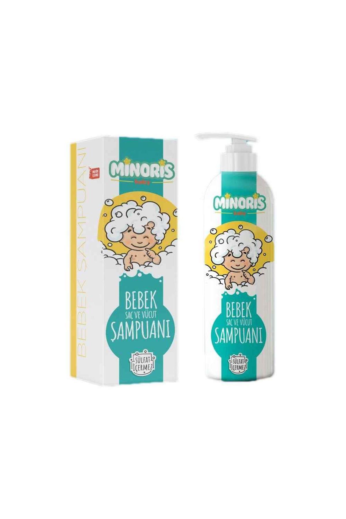 Minoris Baby Organik Bebek Saç ve Vücut Şampuanı 400 ml