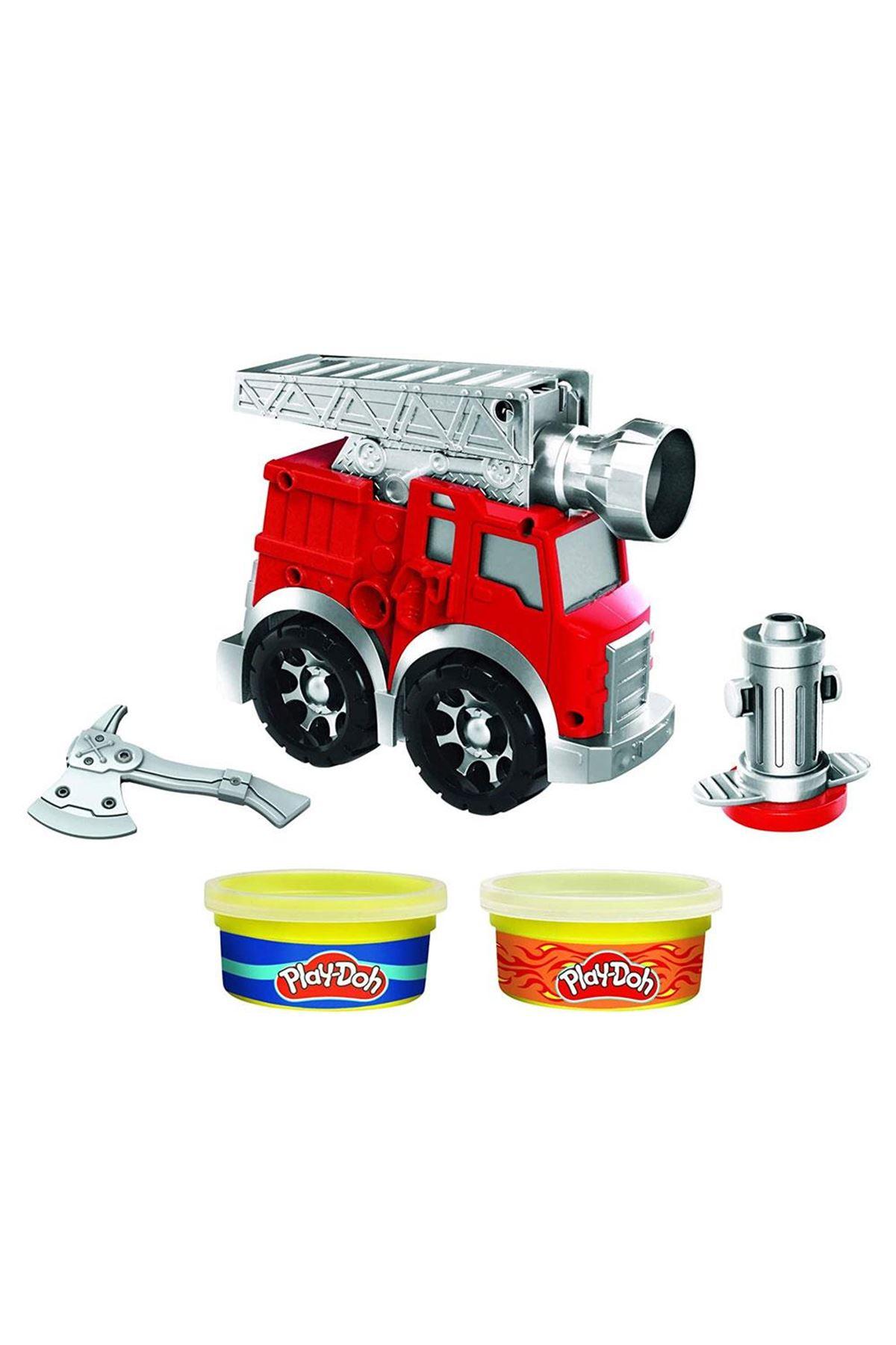 Play-Doh Çalışkan İtfaiye Arabası F0649