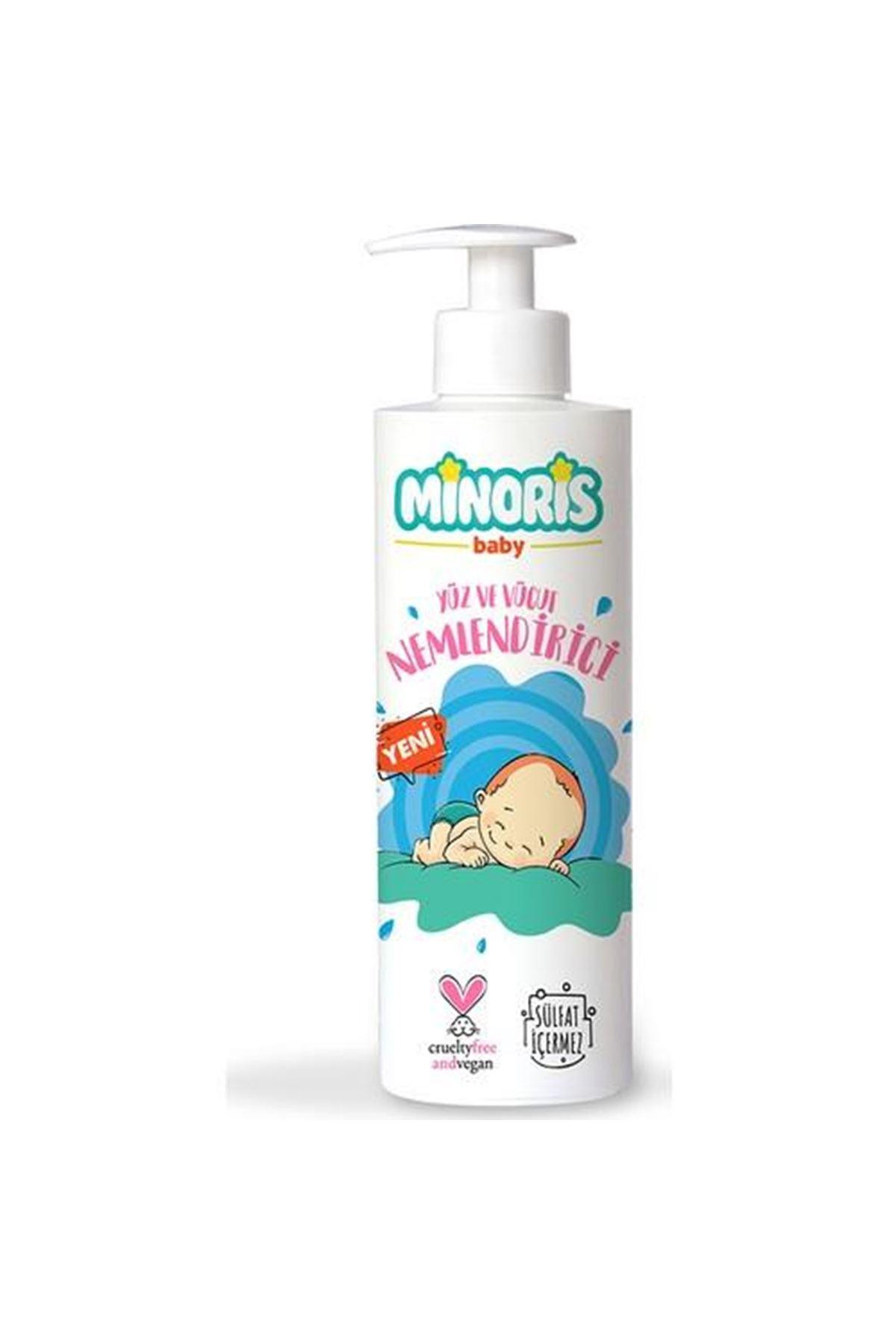 Minoris Baby Organik El Yüz ve Vücut Nemlendirici 200 Ml