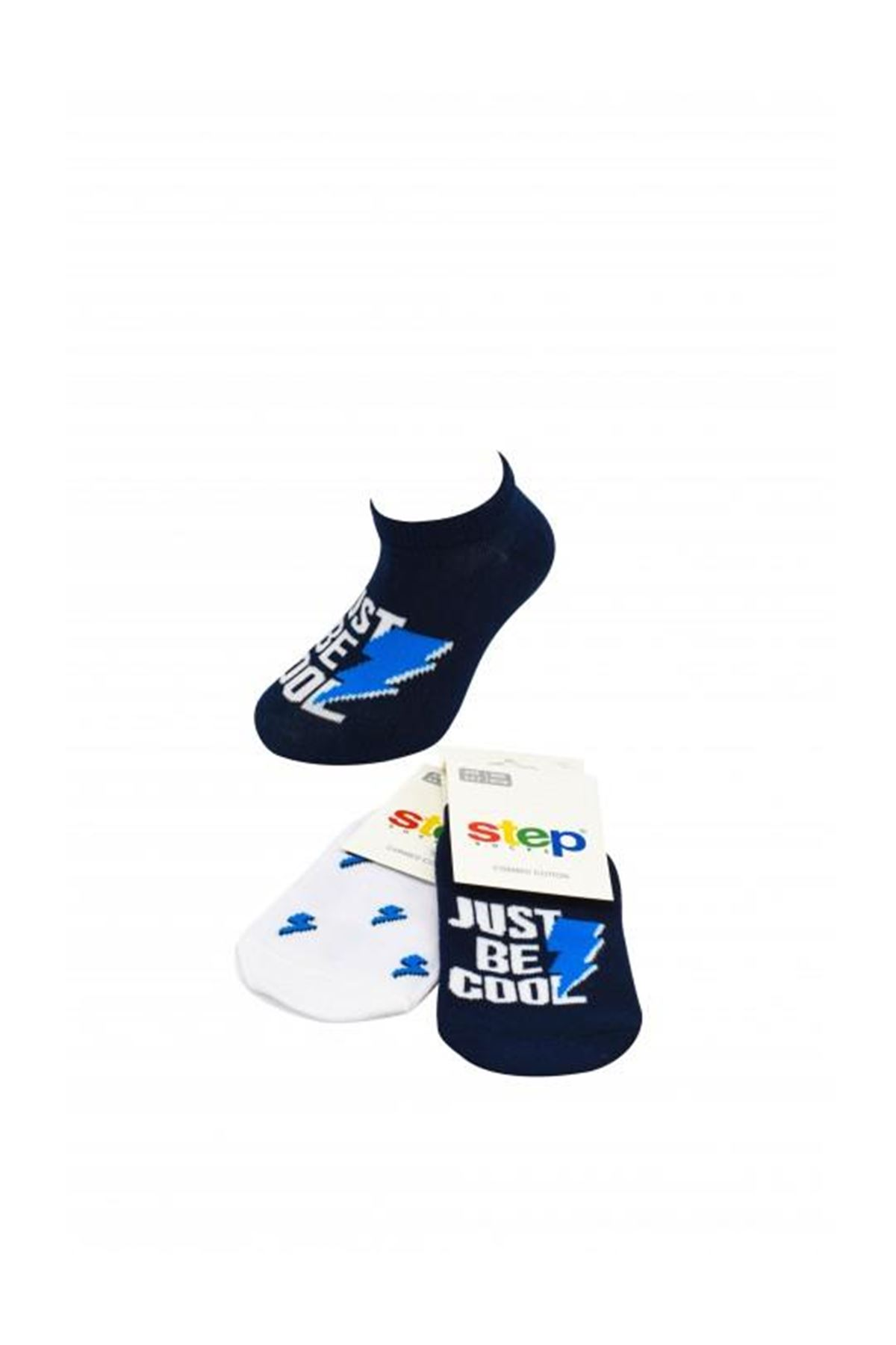 Step Just Soket Çorap 3865 Karışık Renkli