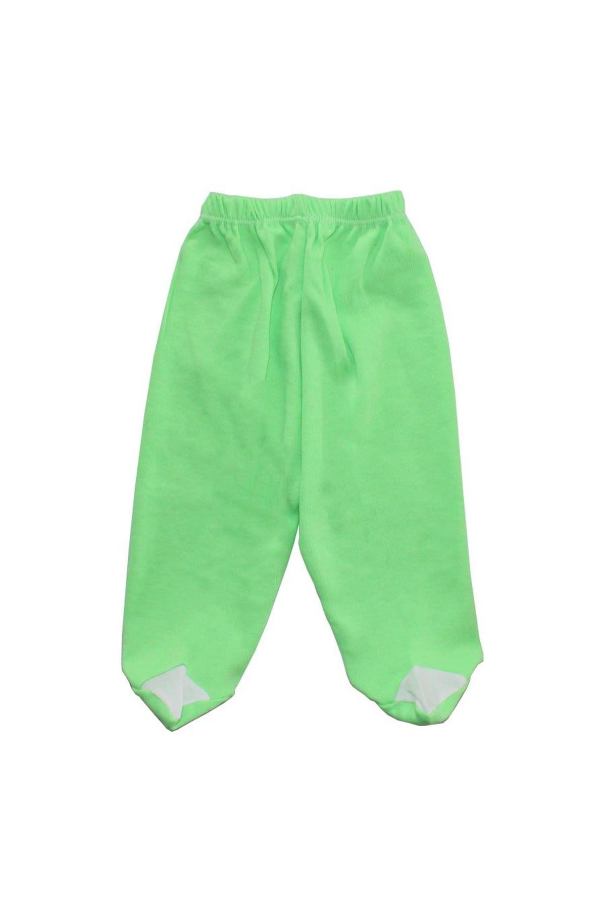 Fosforlu Yeşil Patikli Tek Alt