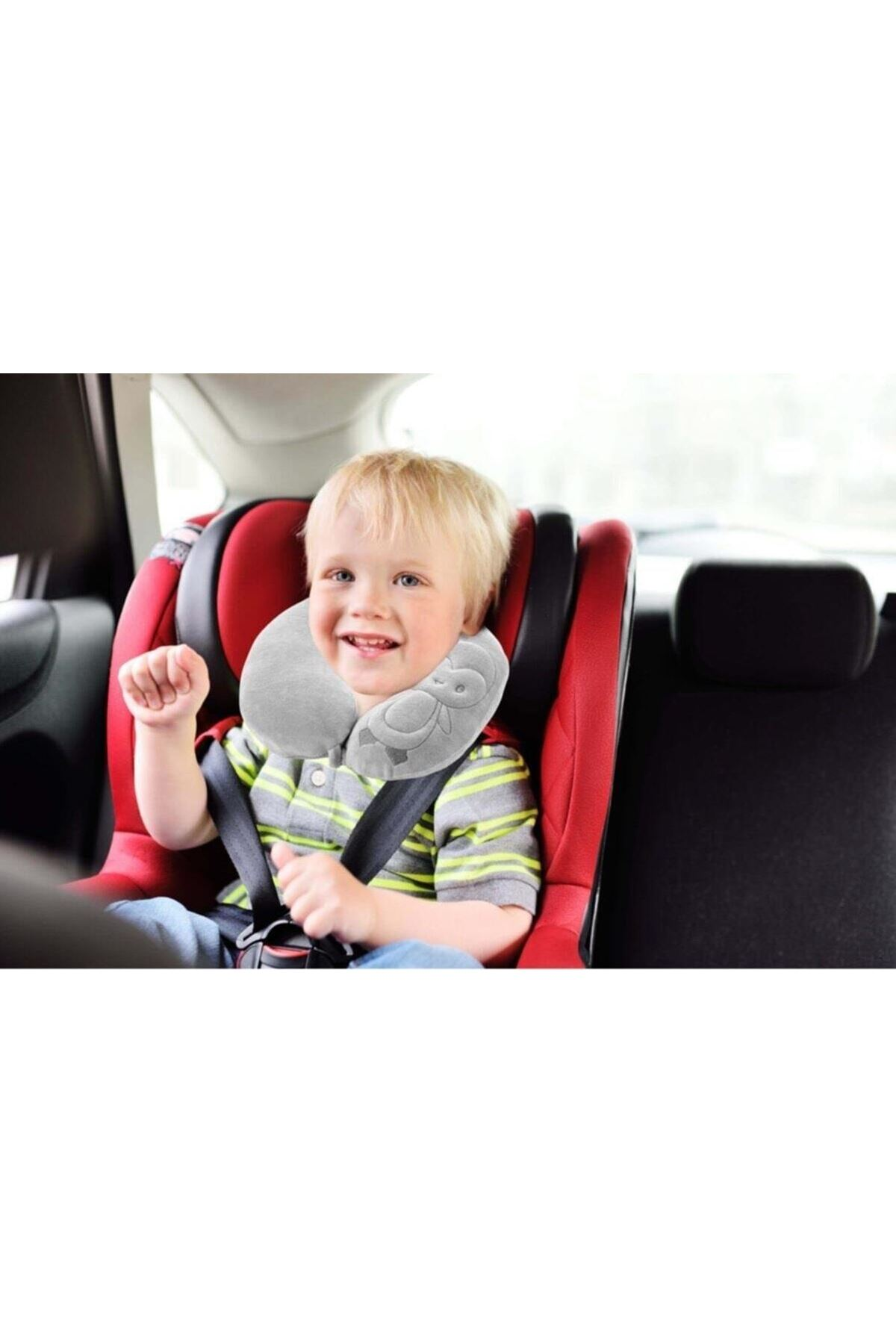 BabyJem Bebek Boyun Koruyucu Yastık 108 Gri